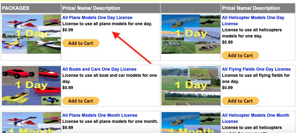 simulador de vuelo gratis rc